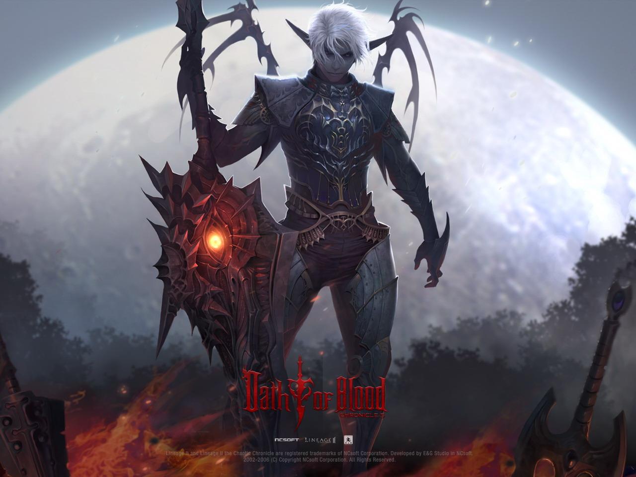 Обои и картинки Lineage II Oath of Blood в высоком качестве ...