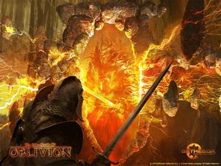 Игра Oblivion